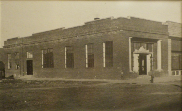 Image of the old Burke bank.
